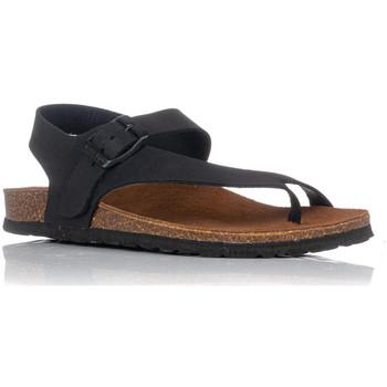 Schuhe Damen Sandalen / Sandaletten Interbios 7162 Schwarz