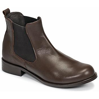 Schuhe Damen Boots So Size NITINE Braun