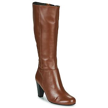 Schuhe Damen Klassische Stiefel So Size ARDEIN Braun