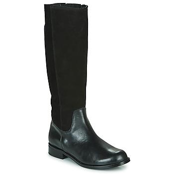 Schuhe Damen Klassische Stiefel So Size NEOLE Schwarz