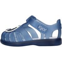 Schuhe Jungen Sandalen / Sandaletten Igor - Gabbietta blu S10249-063 BLU