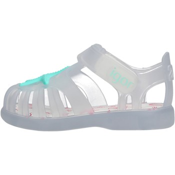 Schuhe Jungen Sandalen / Sandaletten Igor - Gabbietta bianco S10234-158 BIANCO