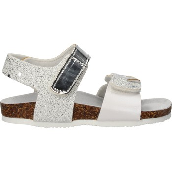 Schuhe Mädchen Sandalen / Sandaletten Gold Star - Sandalo argento 8845Z ARGENTO