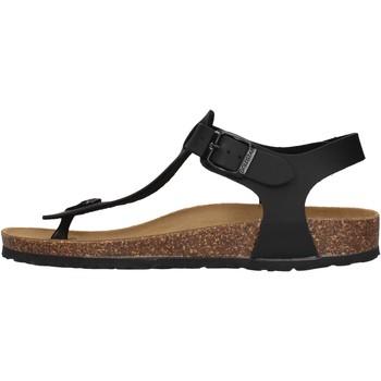Schuhe Damen Sandalen / Sandaletten Gold Star - Infradito nero 1831 NERO
