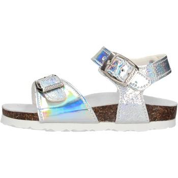 Schuhe Mädchen Sandalen / Sandaletten Gold Star - Sandalo argento 1846PG ARGENTO