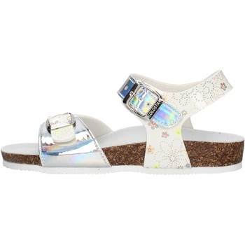 Schuhe Jungen Sandalen / Sandaletten Gold Star - Sandalo ghiaccio 8846PF BIANCO