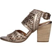 Schuhe Damen Sandalen / Sandaletten Bueno Shoes - Sandalo bronzo 1004 BRONZO