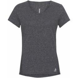 Kleidung Damen T-Shirts Odlo T-shirt femme  Lou Linencool gris