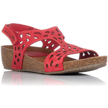 Schuhe Damen Sandalen / Sandaletten Interbios 5372 Rot