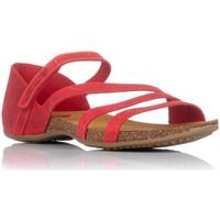 Schuhe Damen Sandalen / Sandaletten Interbios 4476 Rot