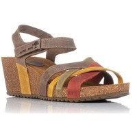Schuhe Damen Sandalen / Sandaletten Interbios 5637 Orange