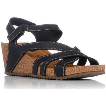 Schuhe Damen Sandalen / Sandaletten Interbios 5633 Schwarz
