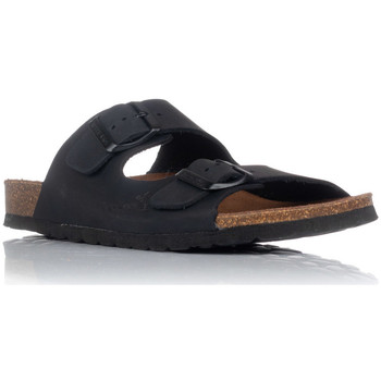Schuhe Herren Pantoffel Interbios 7206 Schwarz