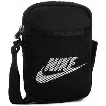 Taschen Herren Geldtasche / Handtasche Nike Heritage S Smit Small Items Bag Schwarz