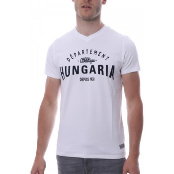 Kleidung Herren T-Shirts Hungaria H-16TLMOBOLV Weiss