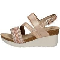 Schuhe Damen Sandalen / Sandaletten Inblu EN 17 KUPFER