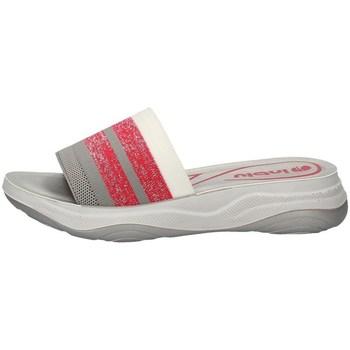 Schuhe Damen Pantoletten Inblu LD 4 FUCHSIE