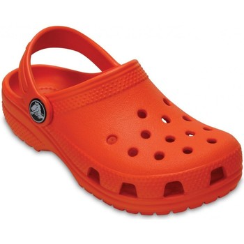 Schuhe Kinder Pantoletten / Clogs Crocs CR.204536-TANG Tangerine