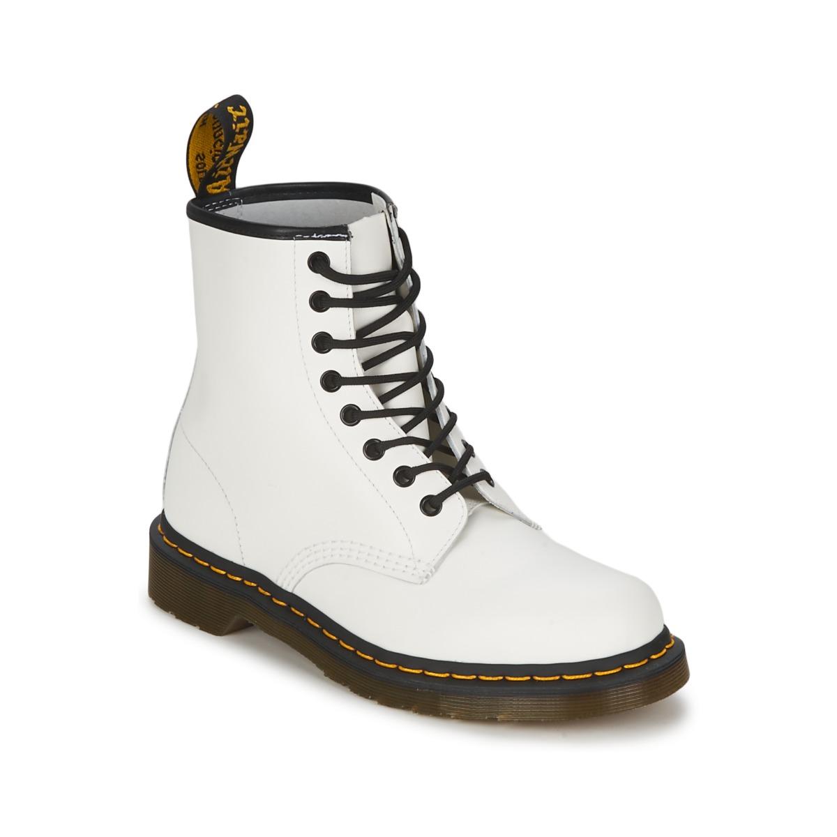 Dr Martens 1460 Weiss - Kostenloser Versand bei Spartoode ! - Schuhe Boots  84,50 €