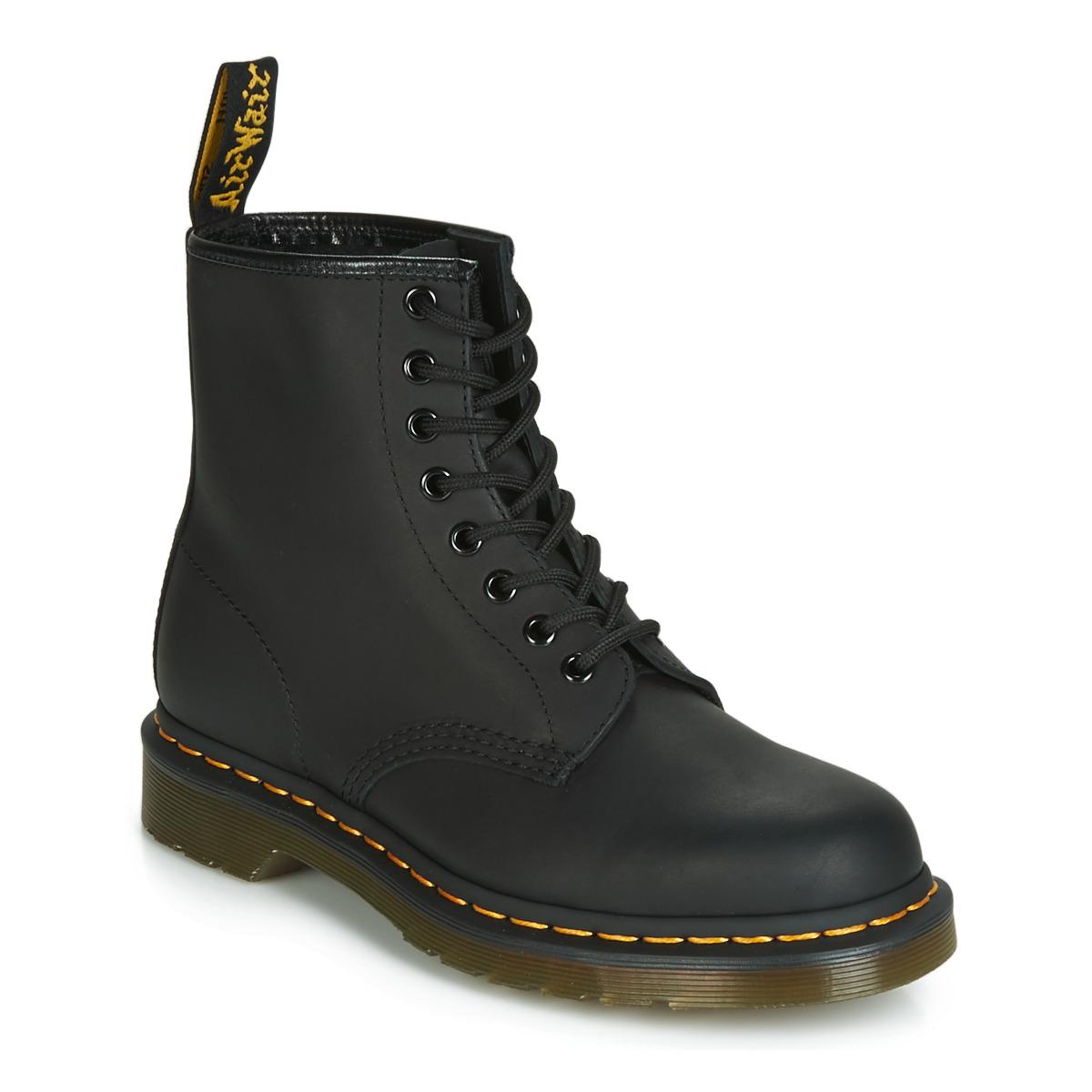 Dr Martens 1460 Schwarz - Kostenloser Versand bei Spartoode ! - Schuhe Boots  169,00 €