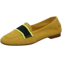 Schuhe Damen Slipper Gianluca Pisati Slipper Q020 GIOALLOCAMOSCIO gelb