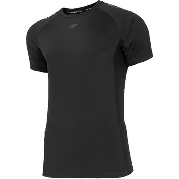 Kleidung Herren T-Shirts 4F Men's Functional T-shirt Schwarz