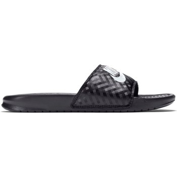 Schuhe Damen Zehensandalen Nike Wmns Benassi Jdi Schwarz