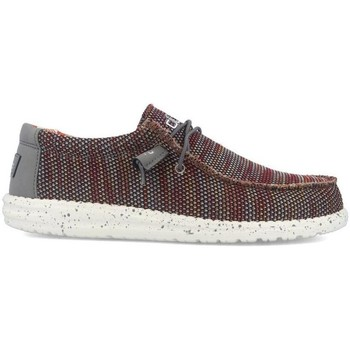 Schuhe Herren Slipper Hey Dude WALLY SOX Rot