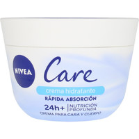 Beauty Damen pflegende Körperlotion Nivea Care Nutrición Profunda Cara & Cuerpo  400 ml