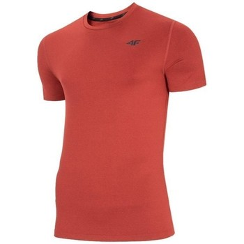 Kleidung Herren T-Shirts 4F TSMF003 Rot