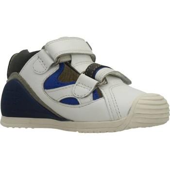 Schuhe Jungen Sandalen / Sandaletten Biomecanics SANDALIA SAUVAGE Weiß