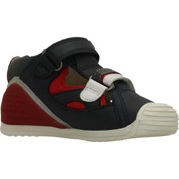 Schuhe Jungen Sandalen / Sandaletten Biomecanics SANDALIA SAUVAGE Blau