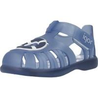Schuhe Jungen Sandalen / Sandaletten Igor S10249 Blau