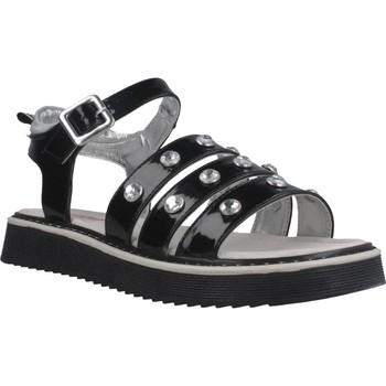 Schuhe Mädchen Sandalen / Sandaletten Asso AG6703 Schwarz