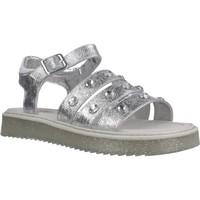 Schuhe Mädchen Sandalen / Sandaletten Asso AG6703 Silber