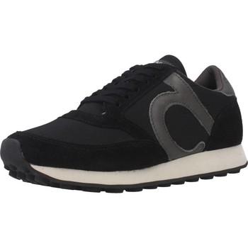 Schuhe Damen Sneaker Low Duuo D100010 Schwarz