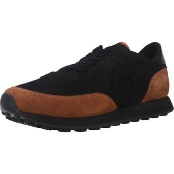 Schuhe Herren Sneaker Low Duuo D100014 Schwarz