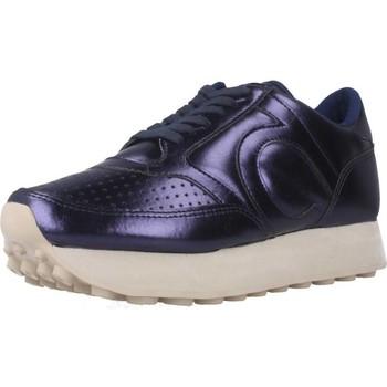 Schuhe Damen Sneaker Low Duuo D105008 Blau