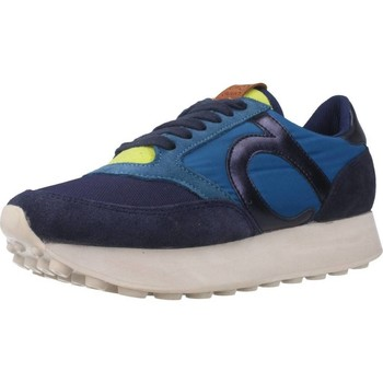 Schuhe Damen Sneaker Low Duuo D105023 Blau