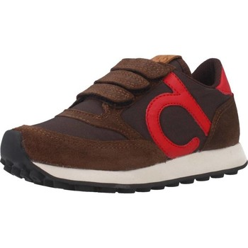 Schuhe Jungen Sneaker Low Duuo D400026 Brown