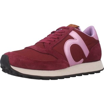 Schuhe Damen Sneaker Low Duuo D401027 Rot