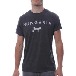 Kleidung Herren T-Shirts Hungaria H-15TOUYBOPS Grau