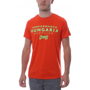 Kleidung Herren T-Shirts Hungaria H-15TOUYBOPS Orange