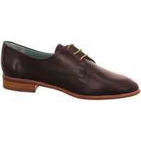 Schuhe Damen Derby-Schuhe Everybody Schnuerschuhe 30507-nero EB schwarz
