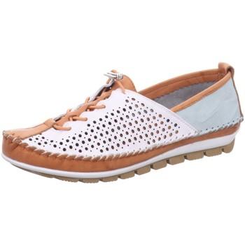 Schuhe Damen Derby-Schuhe Gemini Schnuerschuhe 003138-01/318 weiß