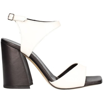 Schuhe Damen Sandalen / Sandaletten Aurora Paris Ted5004 weiß schwarz