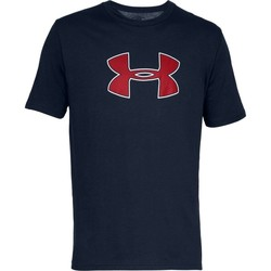 Kleidung Herren T-Shirts Under Armour Big Logo Dunkelblau