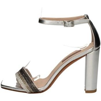 Schuhe Damen Sandalen / Sandaletten Albano 4153 SILBER