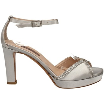 Schuhe Damen Sandalen / Sandaletten Albano 4234 SILBER