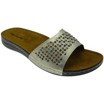 Schuhe Damen Pantoffel Riposella RIP5793pla grigio